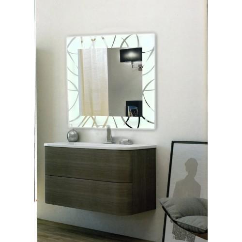 Современное зеркало для ванны с подсветкой Дакота